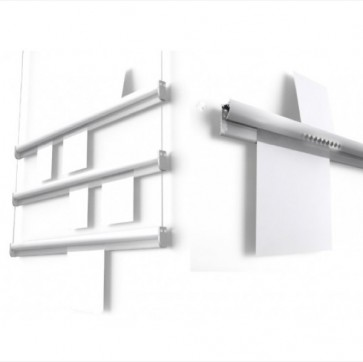 Paper rail in use