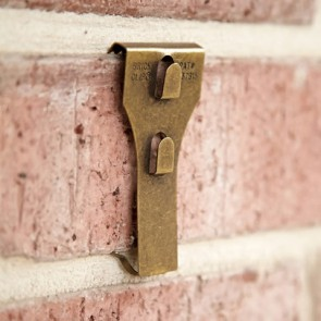 Brick clip on a brick