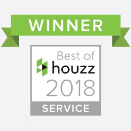 Houzz winner badge 2018