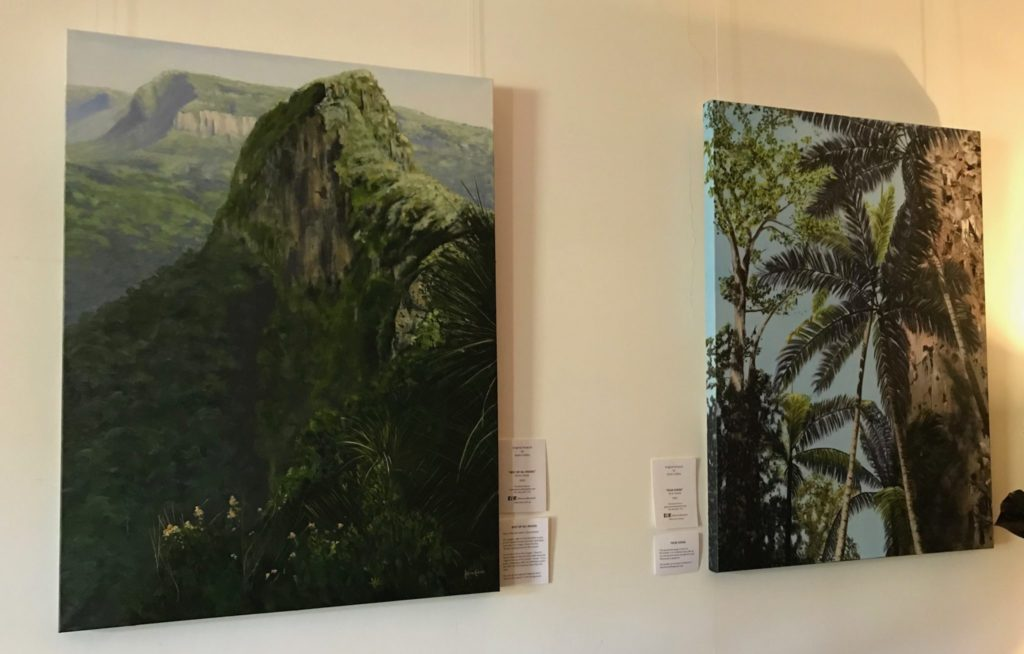 Gallery view of paintings
