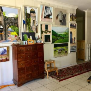 Karen Collins Artist Home Studio